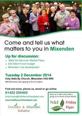 Mixenden December Poster