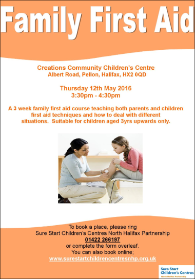 Family First Aid poster