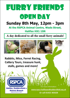 RSPCA Open Day Poster