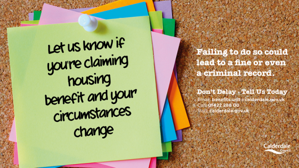 Housing Benefits Flyer