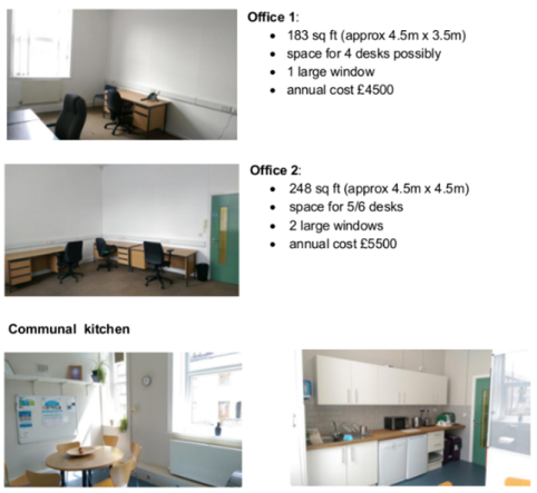 VAC Offices to Let