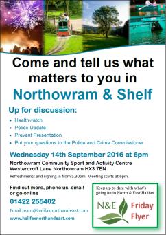 Northowram & Shelf Poster