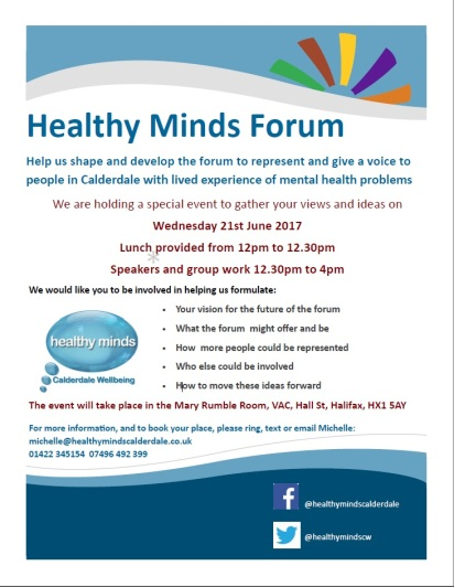 Healthy Minds Forum