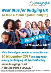 Wear Blue for Bullying UK
