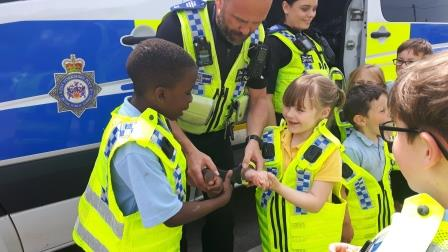 St Michaels Police Visit (5)