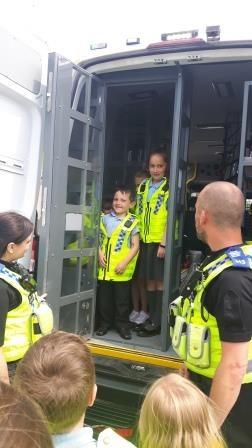 St Michaels Police Visit