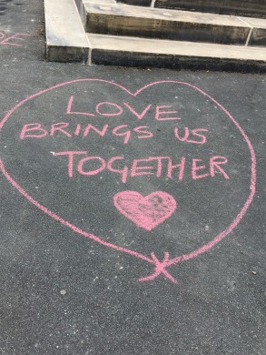 Community Response to Graffiti on War Memorial (5)