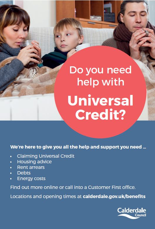 Help With Universal Credit From Calderdale Council