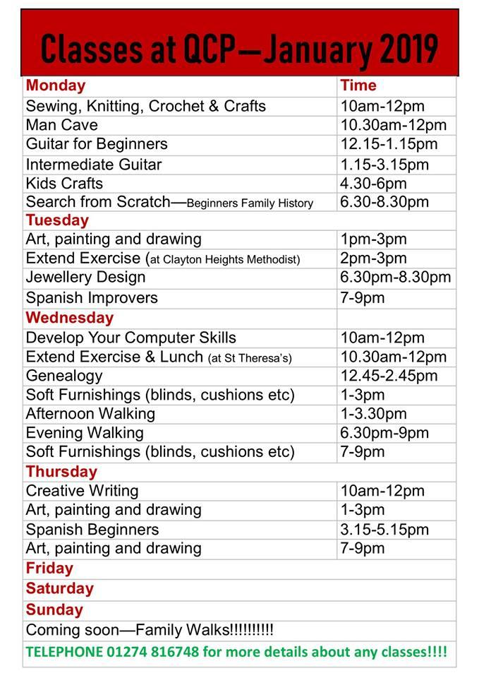 Kid S Crafts Resume At Queensbury Community Programme Halifax