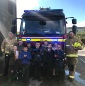 Moorside Junior Wardens at Fire Station (1)