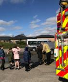 Moorside Junior Wardens at Fire Station (6)