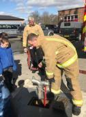 Moorside Junior Wardens at Fire Station (7)