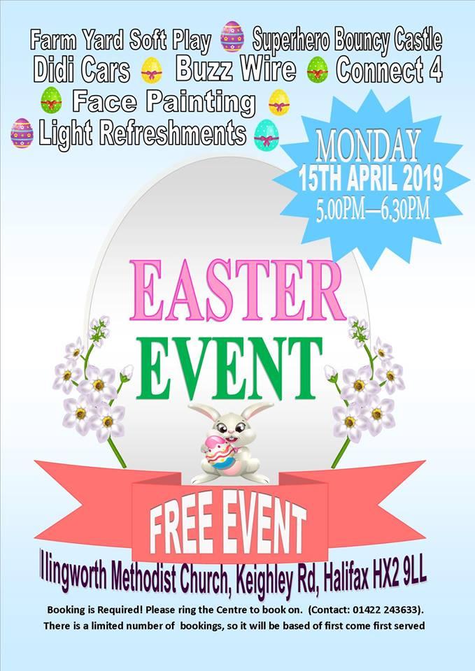 Illingworth Children's Centre Easter Event | Halifax North & East Blog