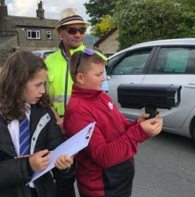 Whitehill Junior Wardens Speed Checks (2)