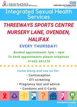 Threeway Sport centre flyer