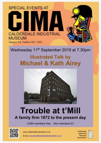 Trouble at t'Mill poster