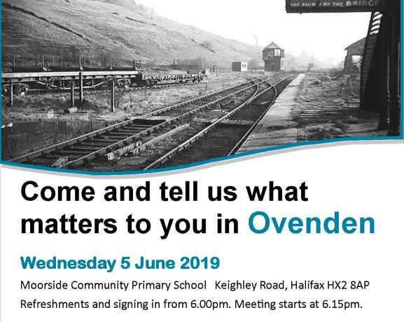 Ovenden flyer poster Wednesday 5 June 2019