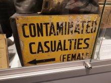 Casualties Sign